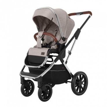 Универсальная коляска CARRELLO Aurora CRL-6502 (3in1) Almond Beige +дождевик /1/