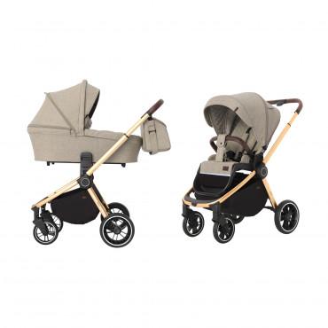 Универсальная коляска CARRELLO Epica CRL-8510 (2in1) Almond Beige +дождевик /1/