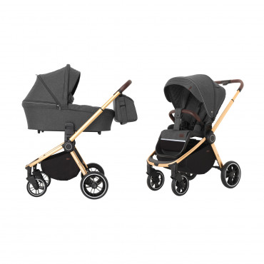 Универсальная коляска CARRELLO Epica CRL-8510 (2in1) Iron Grey +дождевик /1/