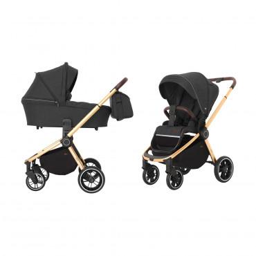 Универсальная коляска CARRELLO Epica CRL-8510 (2in1) Space Black +дождевик /1/