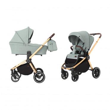 Универсальная коляска CARRELLO Epica CRL-8510 (2in1) Tea Green +дождевик /1/